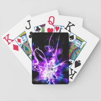Abstract spark Playing cards