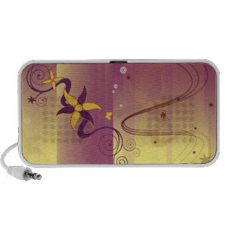 abstract iPod speakers