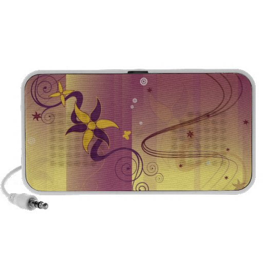 abstract portable speakers