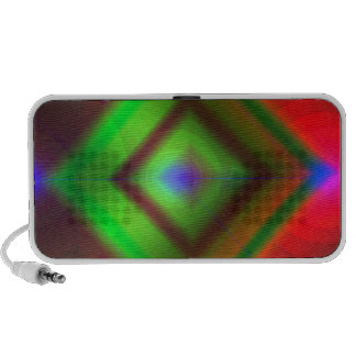Abstract Mp3 Speakers