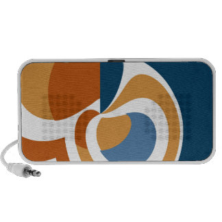 Abstract iPhone Speakers