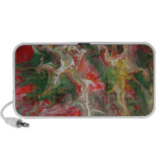Abstract Notebook Speakers