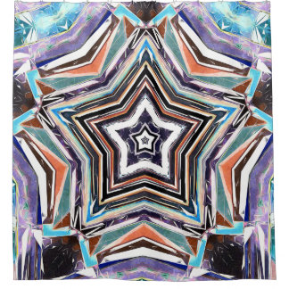Abstract Spectral Star Shower Curtain