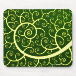 Abstract Spiral Mouse Mat