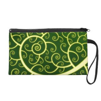 Abstract Spiral Wristlet