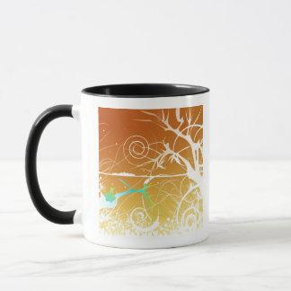 Abstract Spirals and Swirls Mug