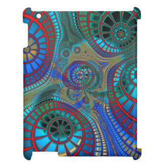 Abstract Spirals iPad Cases