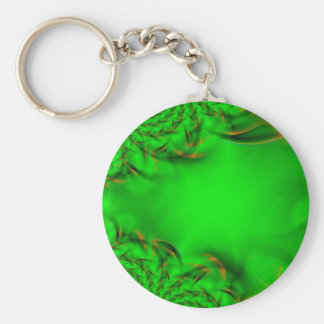 abstract spirograph background basic round button key ring