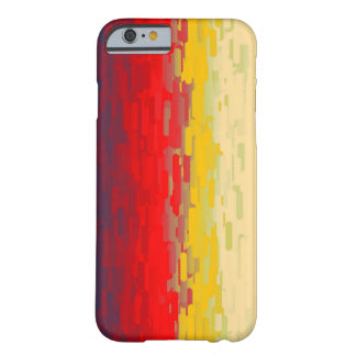 Abstract splash barely there iPhone 6 case