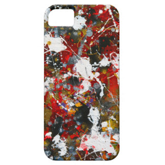 Abstract Splashes iPhone 5/5S Covers
