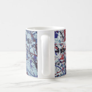 Abstract Splatter Painted Mug