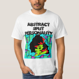 Abstract Split Personality Shirt
