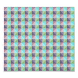 abstract square and triangle pattern art photo