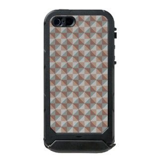 Abstract square and triangle pattern incipio ATLAS ID™ iPhone 5 case