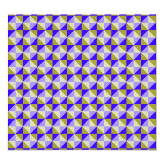Abstract square and triangle pattern photo