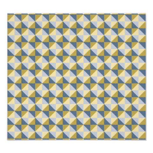 Abstract square and triangle pattern photograph