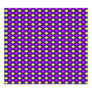 Abstract square colorful pattern art photo