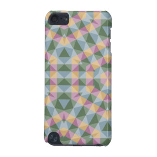 abstract square, hexagon and triangle pattern iPod touch (5th generation) cover