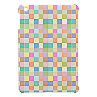 Abstract Square Multicolored Mosaic Case For The iPad Mini
