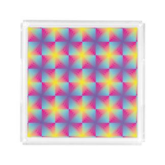 Abstract square vector mosaic
