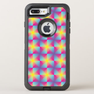 Abstract square vector mosaic OtterBox defender iPhone 8 plus/7 plus case
