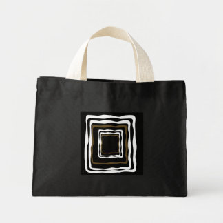 Abstract Squared Mini Tote Bag