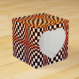 Abstract Squares 10 Favour Box