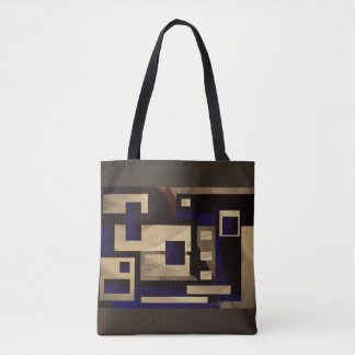 Abstract Squares Bag