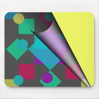 Abstract Squares Dots Mousepad