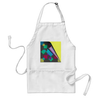 Abstract Squares & Dots Standard Apron