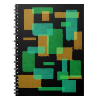 Abstract Squares Notebook