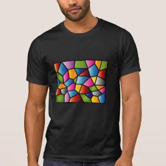 Abstract Stained Glass Destroyed T-shirt