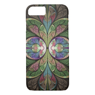 Abstract Stained Glass Duchess of Sauchiehall iPhone 7 Case