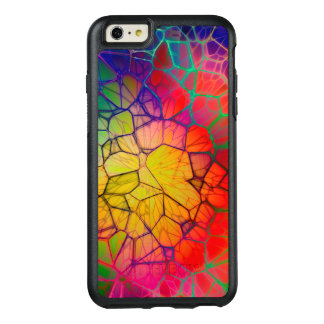 Abstract Stained Glass Glow OtterBox iPhone 6/6s Plus Case