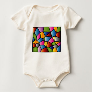 Abstract Stained Glass Infants Creeper