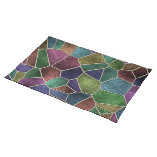 Abstract Stained Glass Place Mat