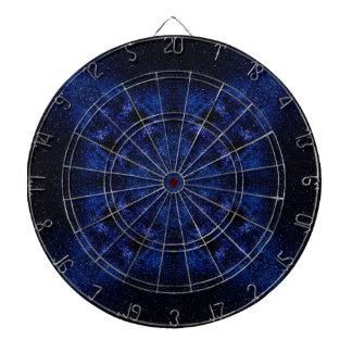 Abstract Starry Sky Dartboard
