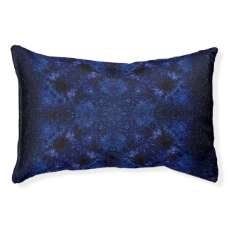 Abstract Starry Sky Pet Bed