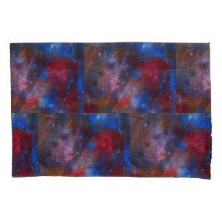 Abstract Stars Pillow Case