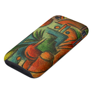 Abstract Still Life Tough iPhone 3 Covers