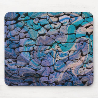 Abstract Stones blue Mouse Pads