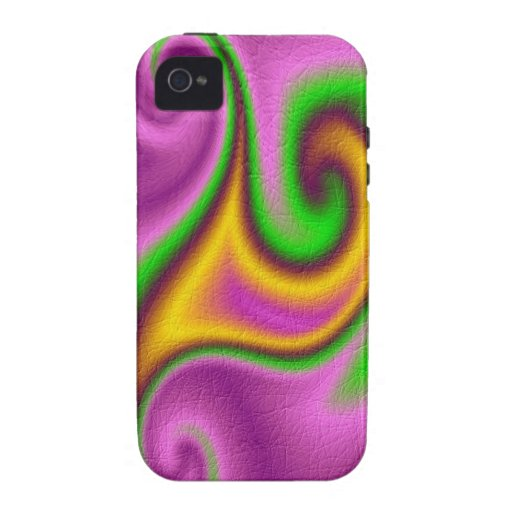 Abstract strange pattern vibe iPhone 4 case