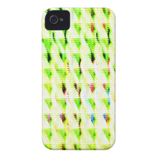 Abstract strange pattern iPhone 4 cases