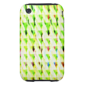 Abstract strange pattern iPhone 3 tough cover