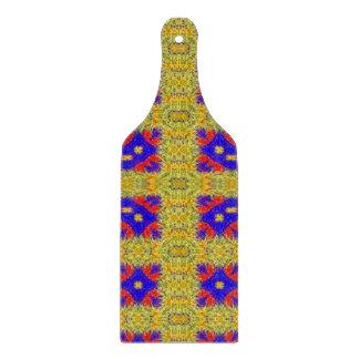 Abstract strange pattern cutting board