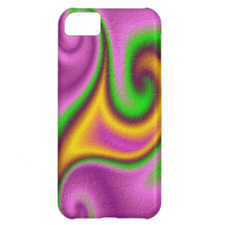 Abstract strange pattern iPhone 5C case