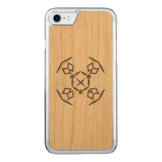 Abstract strange shapes carved iPhone 8/7 case