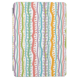 Abstract Stripes Vertical Pattern iPad Air Cover