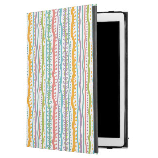 """Abstract Stripes Vertical Pattern iPad Pro 12.9"""" Case"""