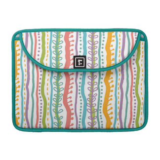 Abstract Stripes Vertical Pattern Sleeve For MacBooks